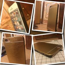 iPhone 6 & 6S  Hardened  Ballistic Impact Resistant  Case Metal Gold  ISPORT™