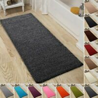 Shaggy Bath Mat Soft Non Slip Large Bathroom Rugs Super Absorbent Mats 60x110cm