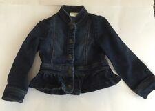Girls Crazy 8 Denim Jacket Size XS