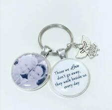 Personalised photo keyring memory bereavement lost loved one mothers day