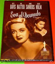EVA AL DESNUDO / ALL ABOUT EVE - English Deutsch Español DVD R2 Precintada