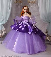 "DAE Originals Vivian ROMANCE collection ""EVENING LILAC'S"" NRFB complete w jewels"