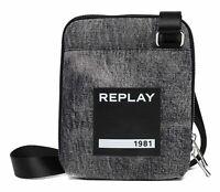 REPLAY Sac À Bandoulière Shoulder Bag Washed Black