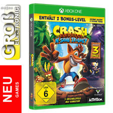 Crash Bandicoot N.Sane Trilogy + Bonuslevel XBOX One NEU OVP BLITZVERSAND
