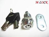 "LOT OF 6  Tubular Cam Lock 7/8""; ENCLOSURE CABINET BOX KIOSK 2400BM"