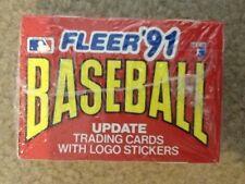 FLEER 91 MLB BASEBALL UPDATE TRADING BASEBALL CARDS