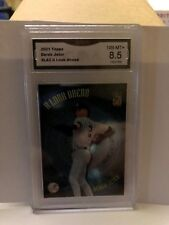 2001 TOPPS#LA2 A LOOK AHEAD DEREK JETER GRADED 8.5