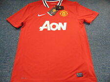NEW NIKE AUTHENTIC DRI-FIT MANCHESTER UNITED CONCHA Y TORO SOCCER JERSEY SIZE L