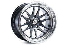 Cosmis Racing Wheels Rim XT-206R 18x9.5 +10mm 5x114.3 Gun Metal w/ Machined Lip