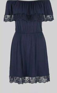 s.Oliver Beachwear Strandkleid marineblau Art.38429950