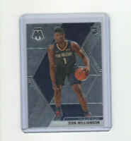 2019/20 Mosaic Zion Williamson Rookie Card #209 ROY New Orleans Pelicans PF! RC