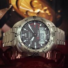 Tissot T-Touch Expert Titanium Watch Black Carbon T013.420.44.202.00 Mens $1075