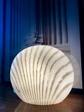 Mid Century Muschellampe Designer Peill & Putzler 70's Opalglas table lamp 60's