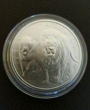 Moneda de 1 onza de plata León del Congo 2016 - African Lion