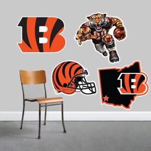 Cincinnati Bengals Wall Art 4 Piece Set Large Size------New in Box------