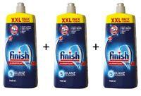 Finish Klarspüler XXL 3er Pack 3450ml Geschirrklarspüler Glanz und Glasschutz
