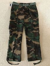 NWT Men's Swaggers Green Camouflage Camo Cargo Pocket Pants w/ Belt SIZES 32-42