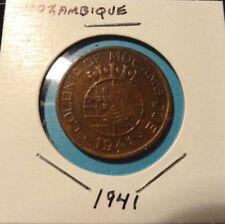 "1941 Portuguese Colonial Mozambique 20 Centavos ""NICE"""