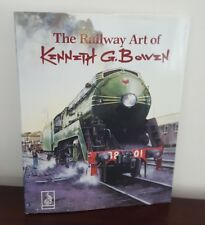 The Railway Art of Kenneth G. Bowen, Boolarong 1987 SIGNED 30/50