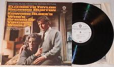 ALEX NORTH Who's Afraid Of Virginia Woolf OST LP Vinyl Warner Bros. 1966 * RARE