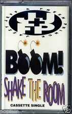 DJ JAZZY JEFF & THE FRESH PRINCE - BOOM! SHAKE THE ROOM UK CASSINGLE WILL SMITH