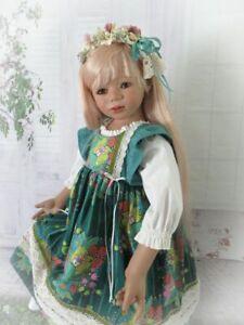 Jewel Tones Floral Dress Set For Your Special Himstedt Doll.