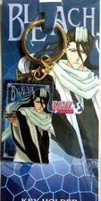 Bleach keyring Byakuya Kuchiki official anime key ring plate Authentic