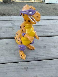 TMNT 1993 Trippy T-rex Tyrannosaurus Donatello Teenage Mutant Ninja Turtle RARE