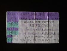 Foo Fighters Ticket Stub 04-14-96 @ The Edge Ft Lauderdale Dave Grohl