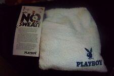VINTAGE PLAYBOY MAGAZINE (NO SWEAT) ACTIVE WEAR WRISTBAND HEADBAND TOWEL SOCKS