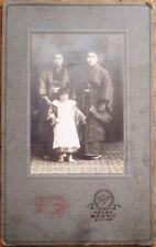 Japan/Japanese Women & Girl 1910 Cabinet Card Photograph/Photo - Geisha