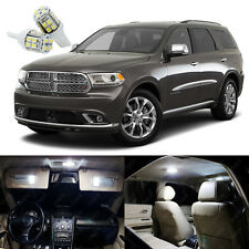 17 x Xenon White LED Interior Light Package Kit For Dodge Durango 2011 - 2018