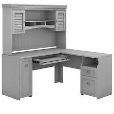 Bush Furniture Fairview 60w L Shaped Desk With Hutch