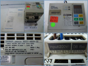 Omron 3G3EV-AB004-CE,IN 1 Out 3 Phase 1,1kVA Rfi Filter + Operating Instructions
