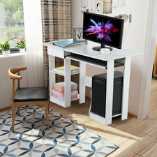 New Laptop Stand Computer Desk Small Desk Home Office Writing Desk White Table