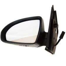 NS Passenger Side Left Wing Mirror Electric Heated Black Smart Fortwo Cabrio