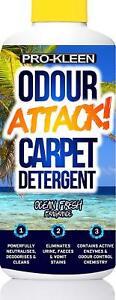 Pro-Kleen Odour Attack! Urine Carpet Cleaner Enzyme Shampoo 1L Ocean Fresh