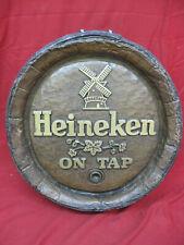 Awesome Heineken Beer On Tap Vintage 3D Barrel Sign