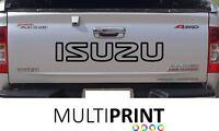 1x  ISUZU TAILGATE TRUCK CAR VINYL STICKERS / DECALS GRAPHICS ISU2