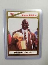 Michael Jordan Sports Edition Card - Limited Edition! #MJ01