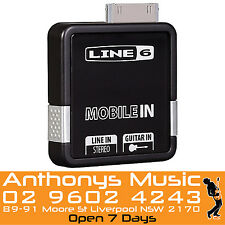 Line 6 Mobile In iPhone4 and iPad Compatable Guitar Line In POD - NEW