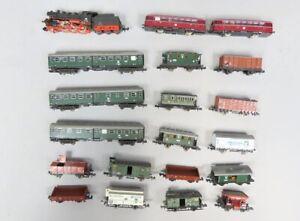 Spur N Zug Lokomotiven Wagen  (V 87134)