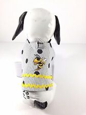 Dog Pet Clothes Harness SZ Medium 6 to 8 LBS NEW Handmade College Georgia Tech