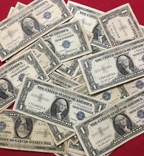 1957 $1.00 US Silver Certificate *STAR* Notes - Lot Of 2 Notes
