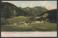 MÜC 37357) AK Gruß aus Daxenberg bei Marquartstein Unterwössen 1907