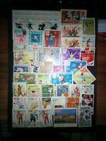 Sport Mix Stamps Briefmarken Sellos Timbres