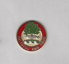 US Army 5th Artillery Regiment crest DUI clutchback badge NSM