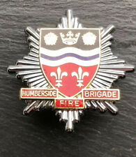 Humberside Fire Brigade Cap Badge