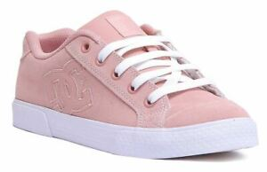Dc Shoes Chelsea Se Low Profile Silhouette Trainer In Peach Size Uk 3 - 8