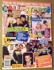 All-Stars Magazine ~August 1999 ~Hanson~Backstreet Boys~Aaron Carter~5ive~N'Sync